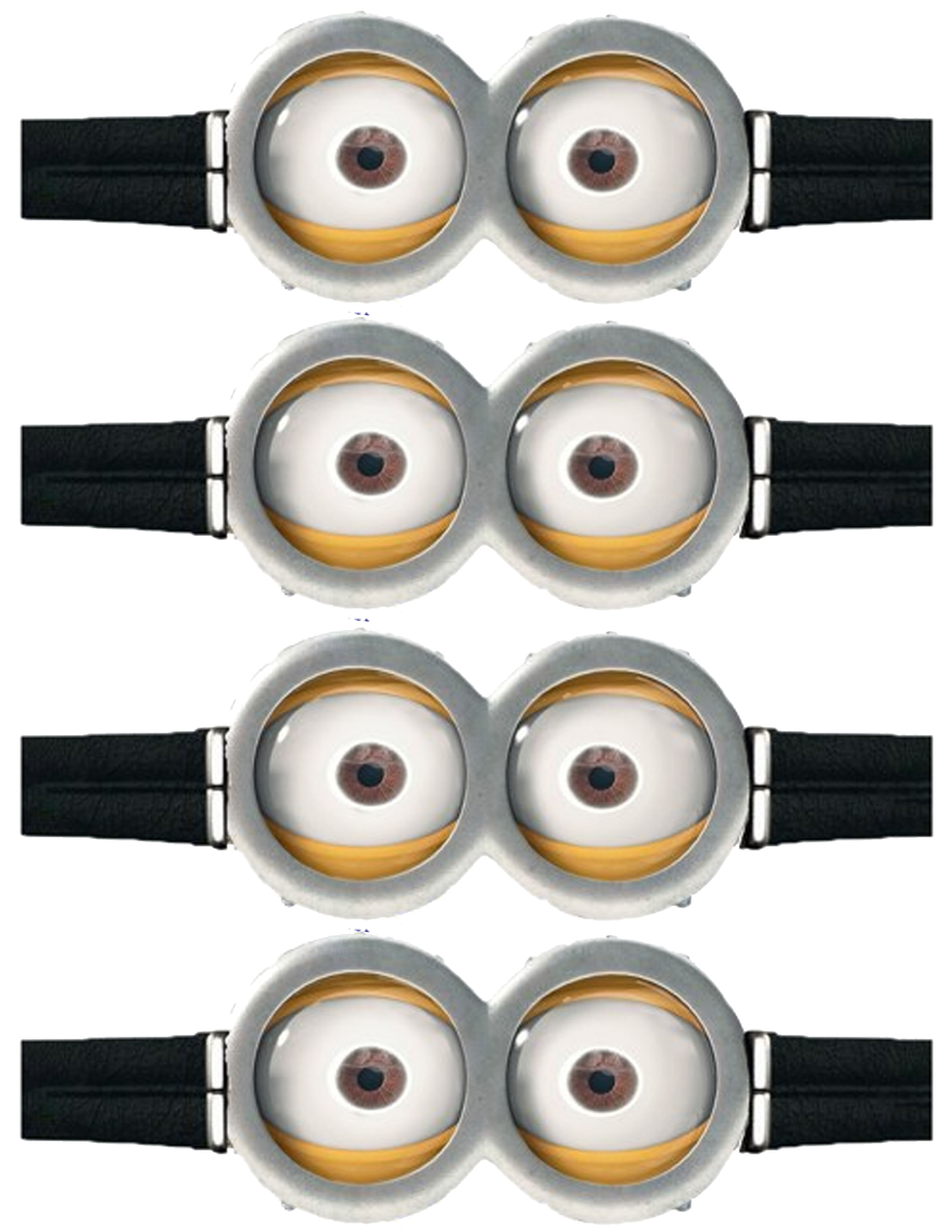 5 Images of Printable Minion Goggles