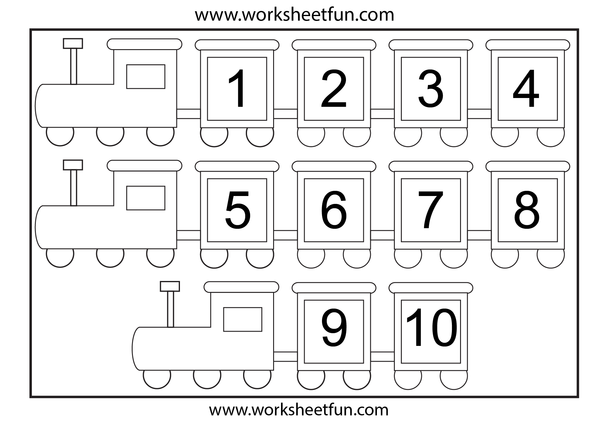 Printables Number Images 1-10 numbers 1 10 worksheets printable worksheet early childhood writing myteachingstation com