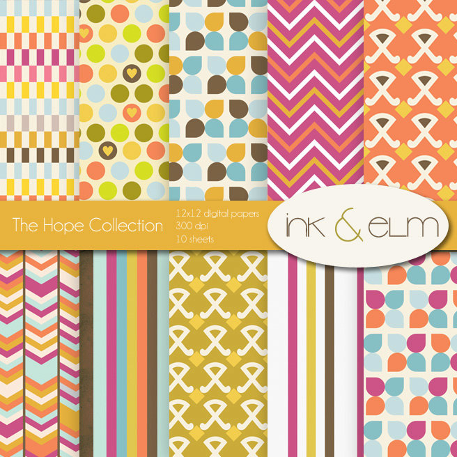 Printable Scrapbook Paper Designs