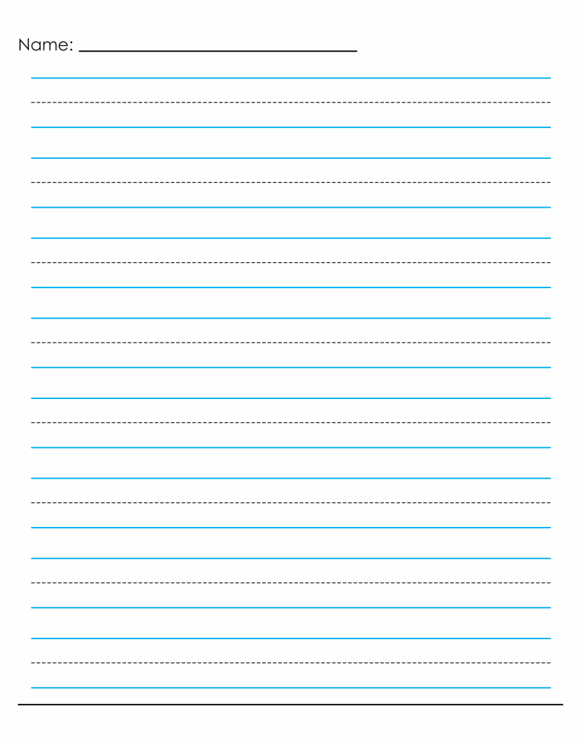 blank writing paper template