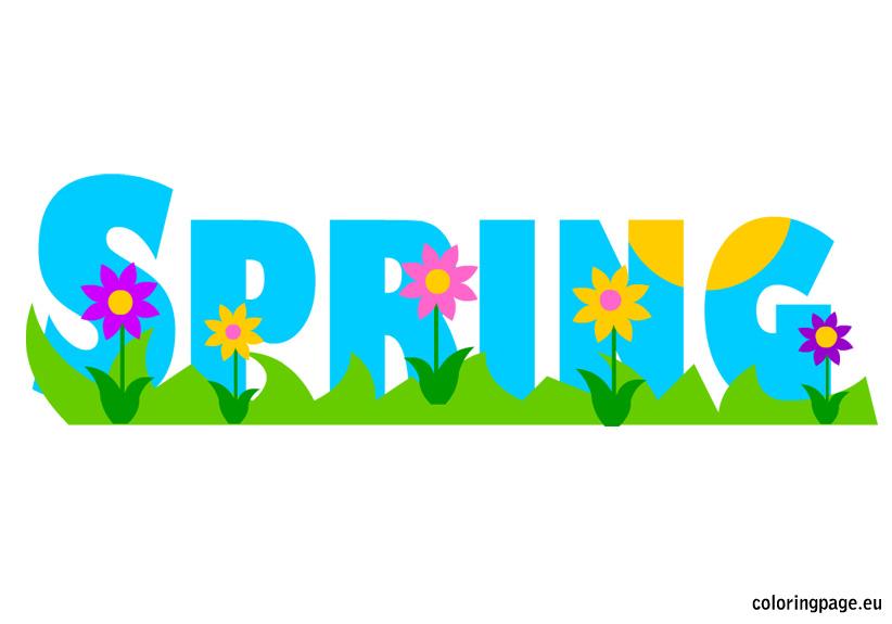 School Spring Clip Art
