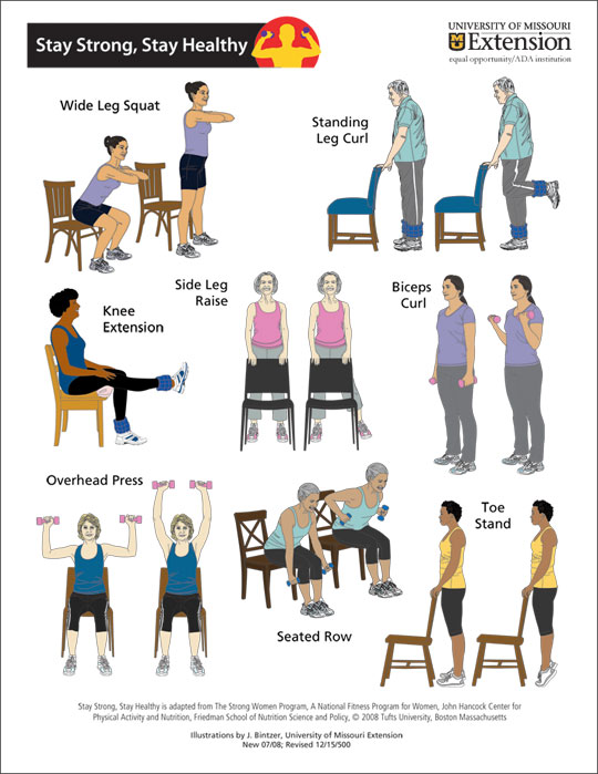 Seated Chair Exercises For Seniors Pdf - Chair.bevrani.com