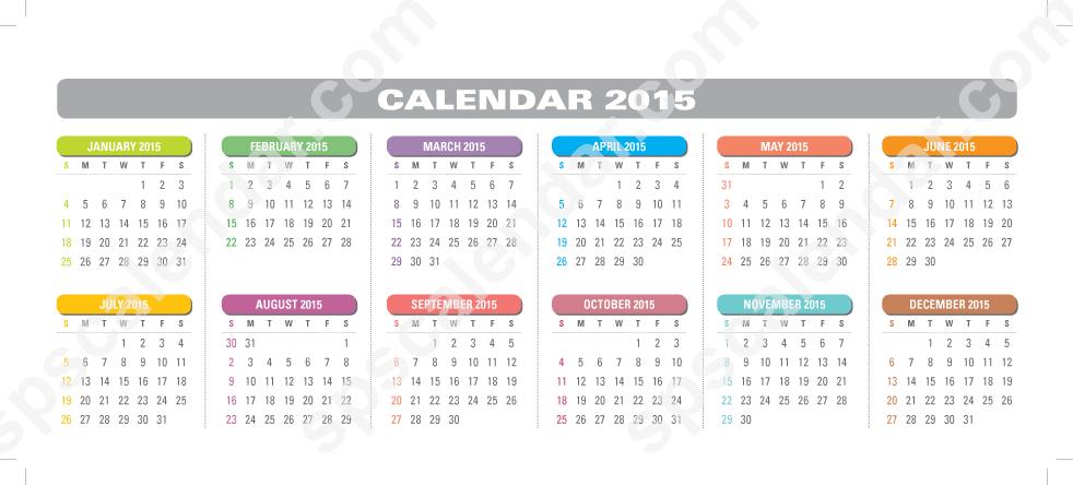Printable Keyboard Strip Calendar 2016 - Bing images
