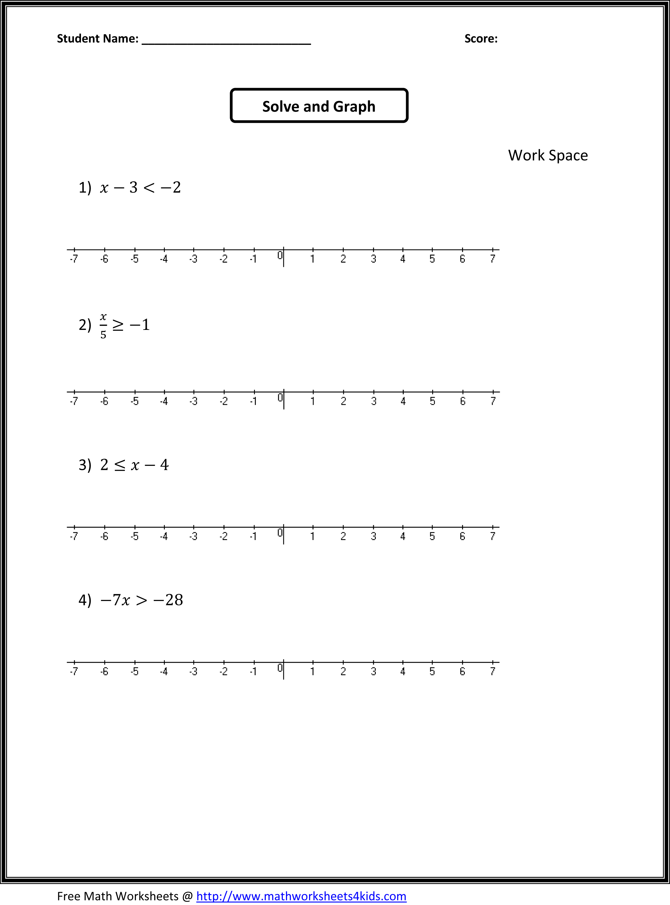 7 Best Images of 7th Grade Math Worksheets Printable - 7th Grade ...