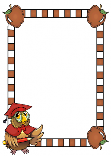 Back to School Borders and Frames