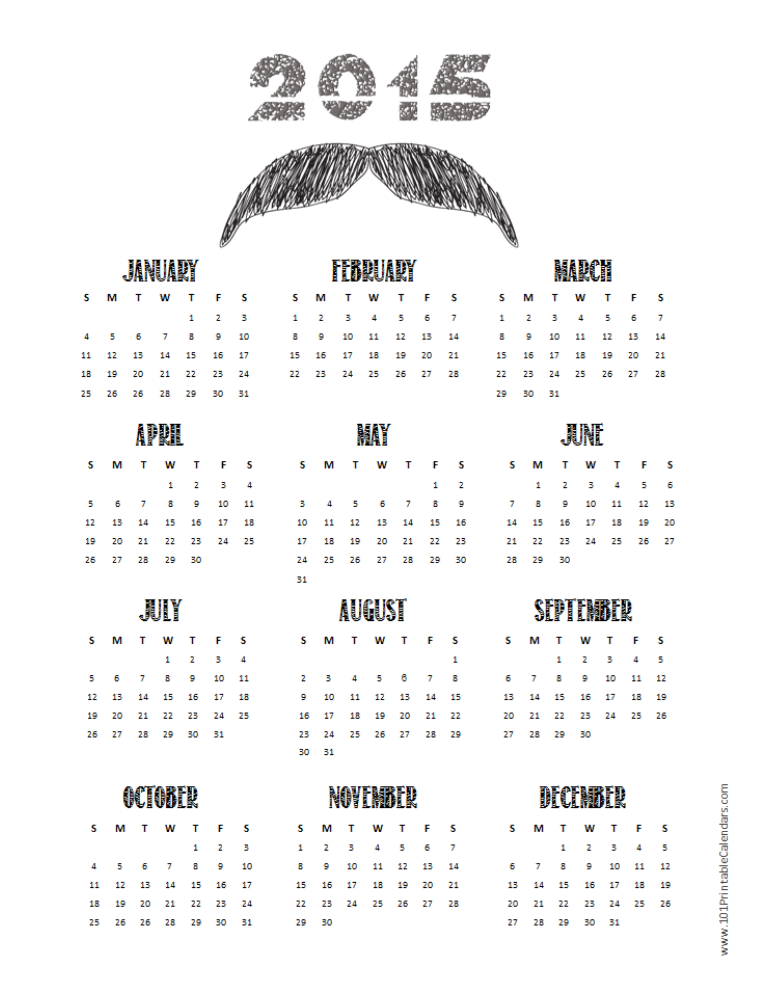 Calendar Black And White : Best images of black and white weekly planner