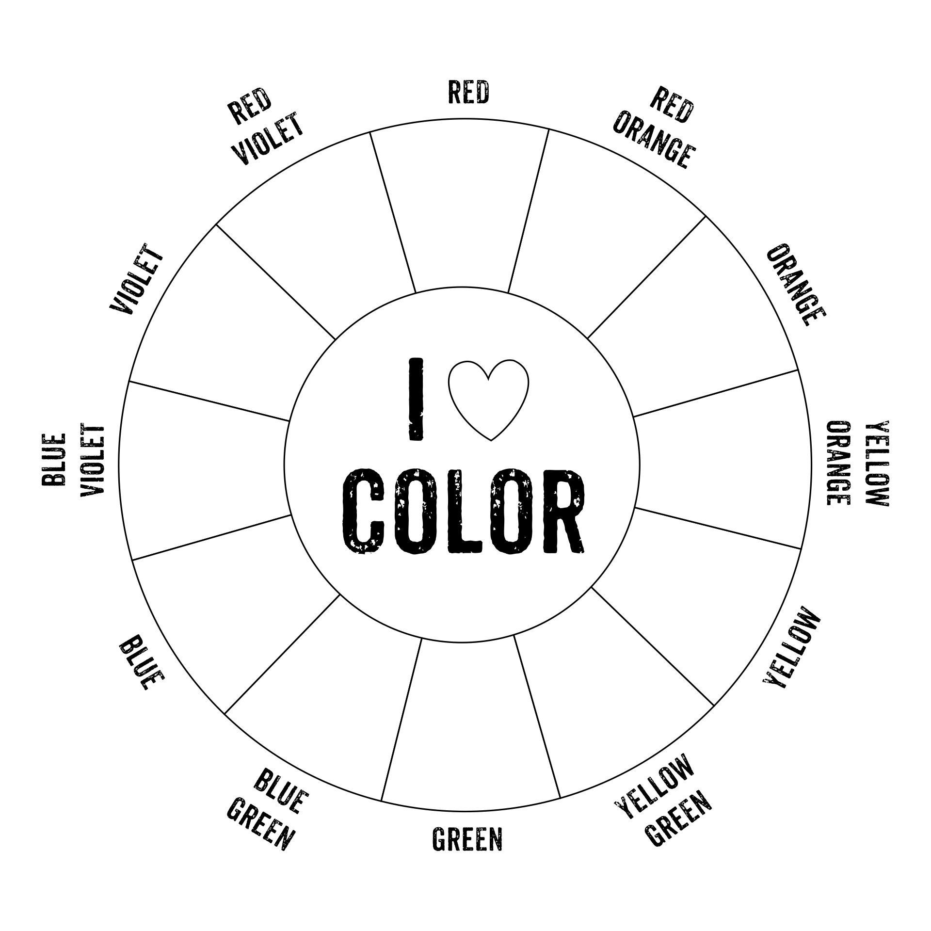 6 Best Color Wheel Printable For Students Printablee Com
