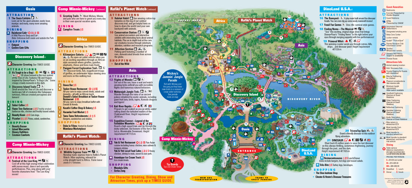 World Magic Kingdom Map 2014 8 best images of walt disney world map ...