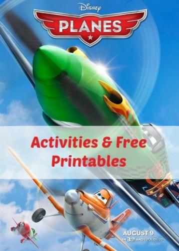 Disney Planes Party Free Printables