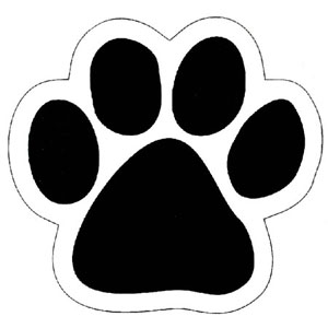 5 Images of Wildcat Stencil Printable
