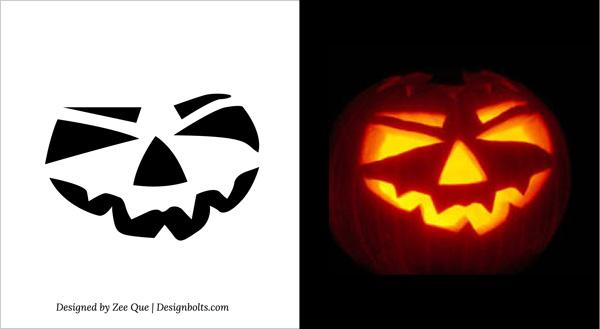 Best images of simple pumpkin carving printable stencils
