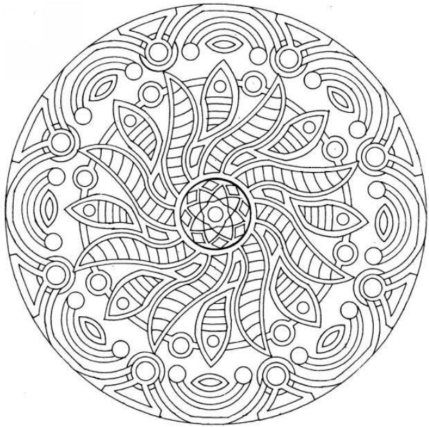 6 Images of Free Printable Adult Coloring Pages Therapy