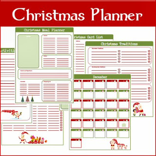 7 Images of Holiday Planner Printables