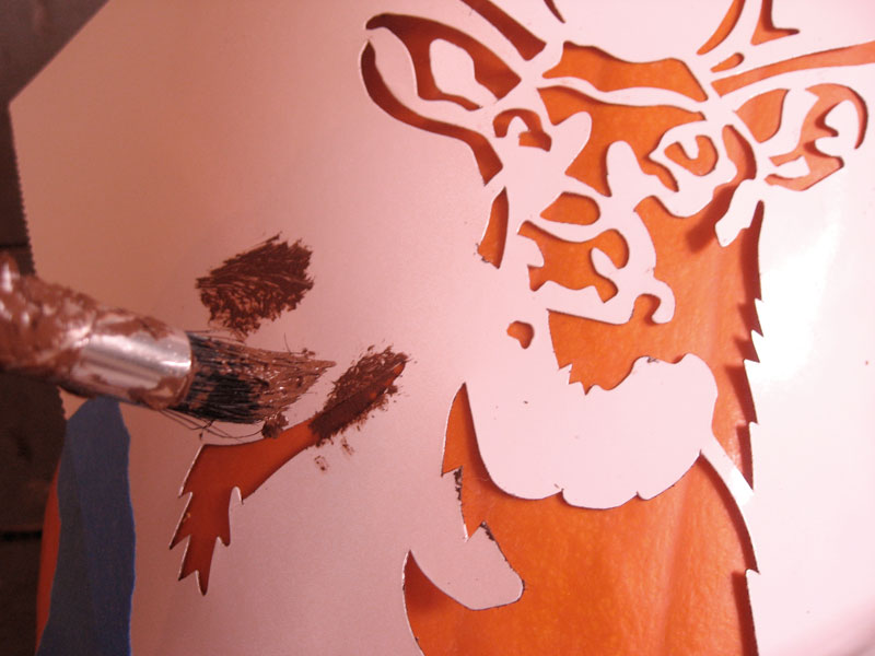 6 Images of Printable Deer Pumpkin Carving Patterns