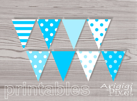 5 Images of Boy Baby Shower Banners Printable Free