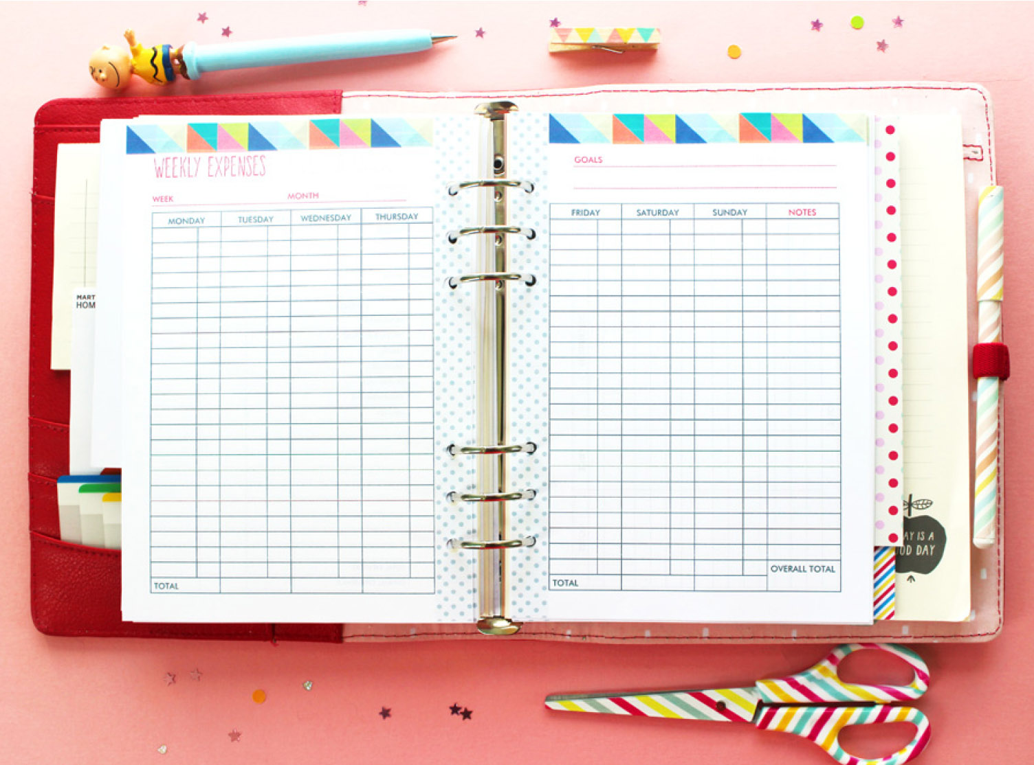8 Images of Budget Planner Free Printable Calendar