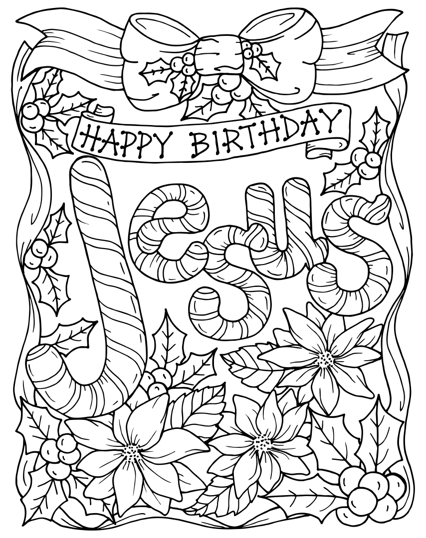 christian stuff coloring pages - photo#11