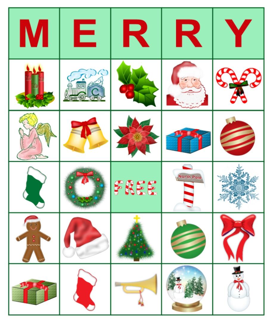 5 Images of Free Printable Christmas Bible Bingo Cards