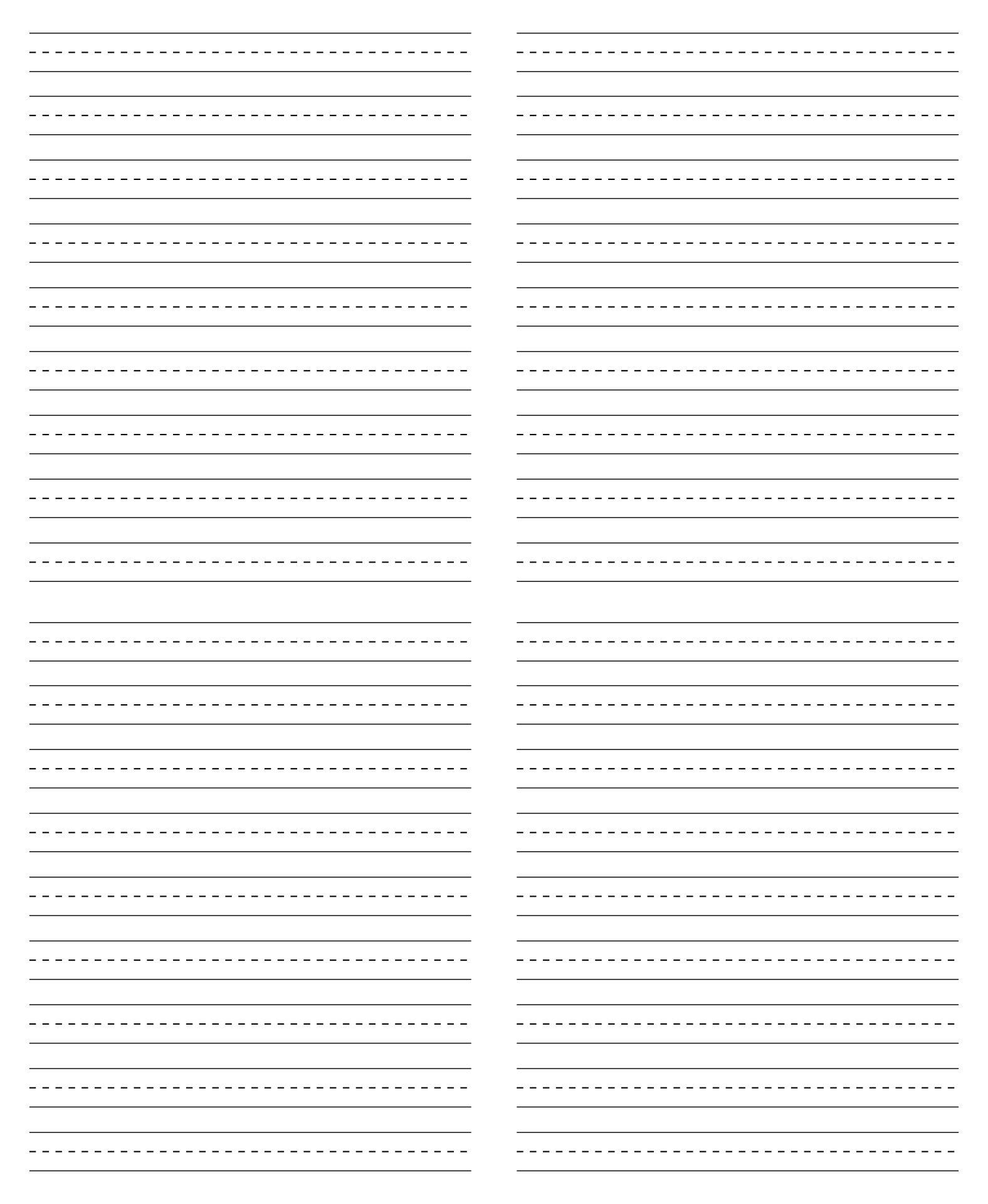 Printable Cursive Writing Paper