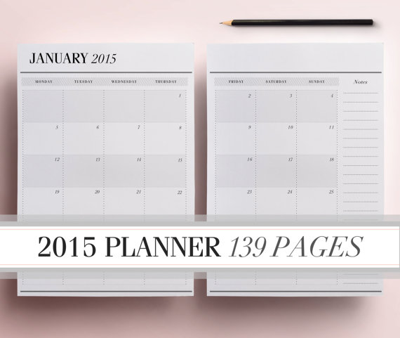 6 Images of Printable Project Planner Pages 2015