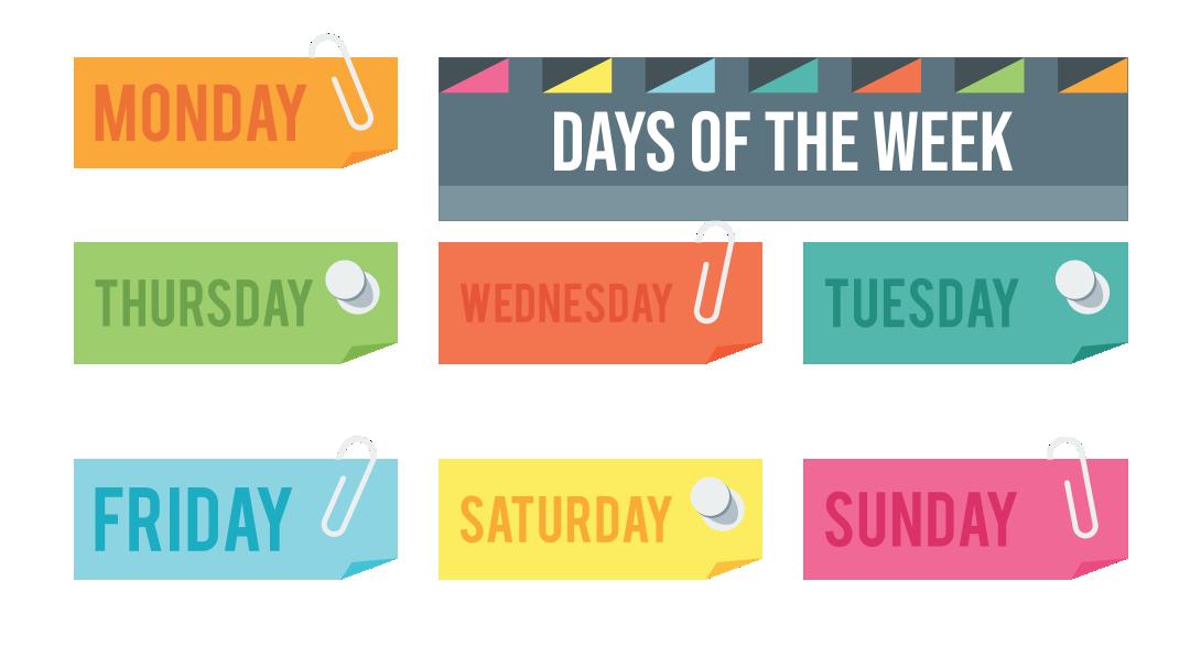 7 Images of Teaching The Days Of Week Preschool Printables