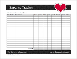 Printables Expense Tracking Worksheet free daily expense tracker worksheet intrepidpath 7 best images of printable weekly sheet