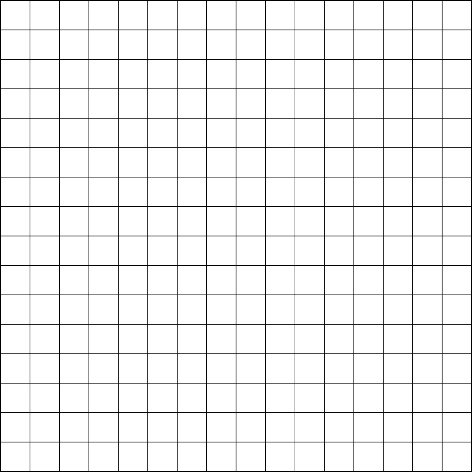 6 Images of Printable Grid Paper