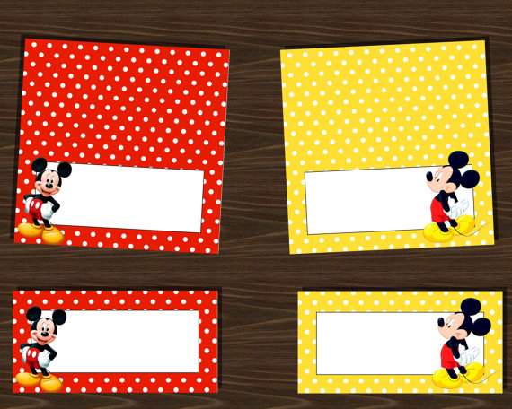 9 Best Images of Mickey Mouse Food Labels Printable ...