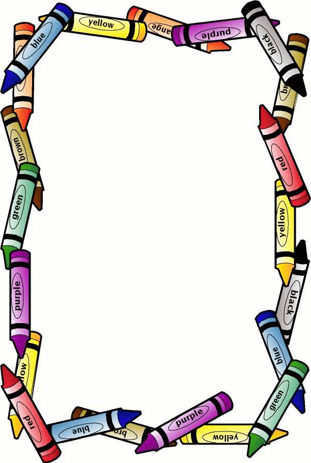 Free Printable Page Borders School