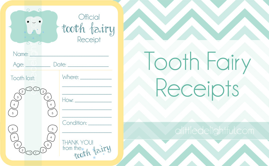 7 Best Images of Printable Tooth Fairy Cards - Free Tooth ...