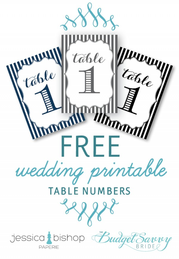 Printable Wedding Table Number Templates The Best Flowers Ideas – Numbers Templates Free