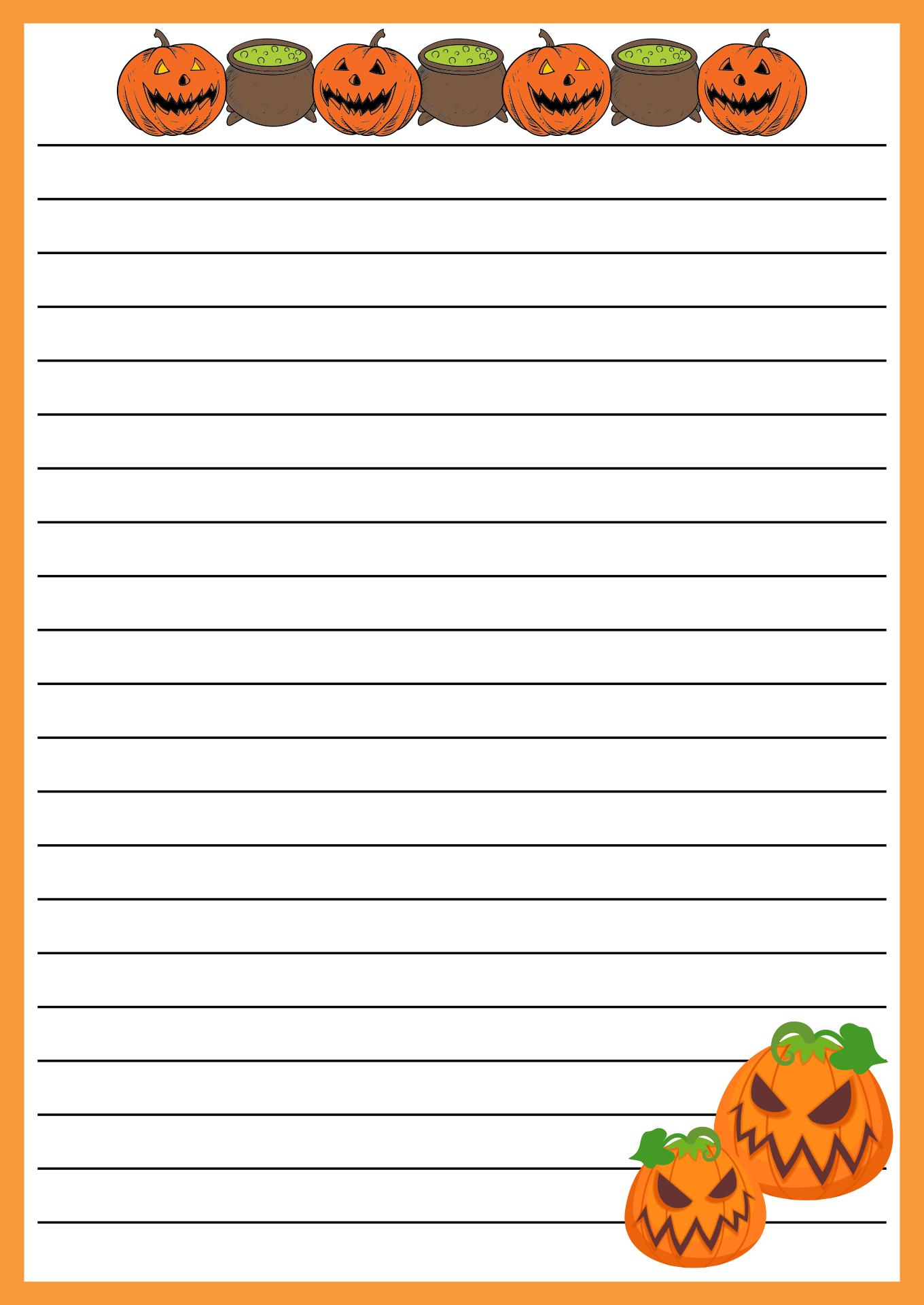 Halloween Letterhead Templates