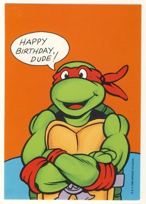 6 Images of Happy Birthday Ninja Turtle Printable