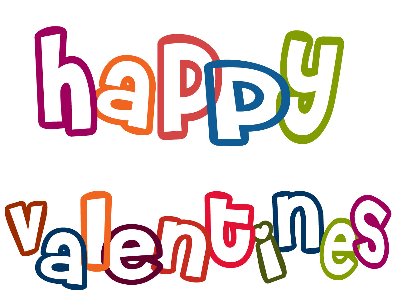 6 Images of Printable Valentine's Day Clip Art