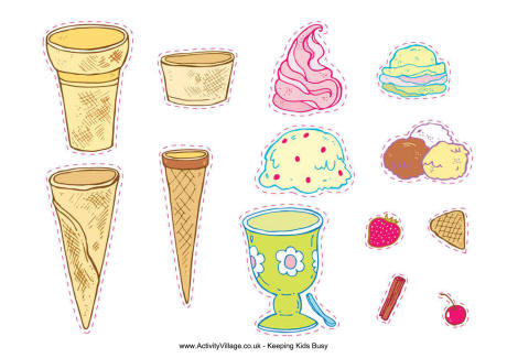 8 Images of Ice -Free Printables