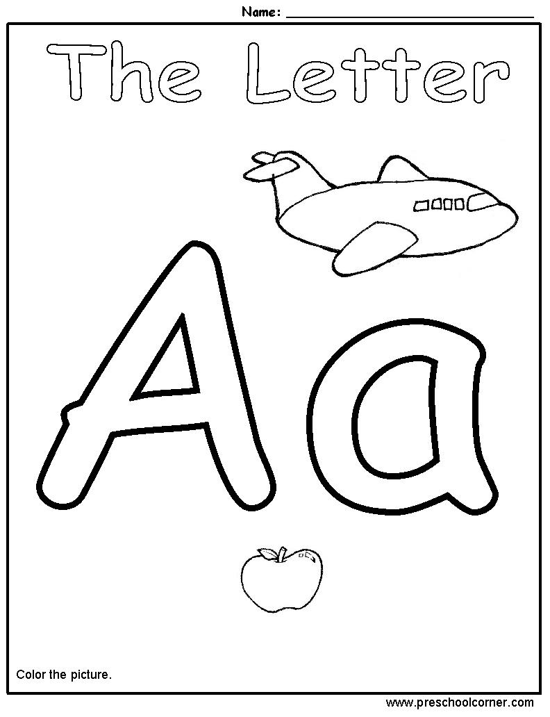 7 Images of Preschool Alphabet Printables