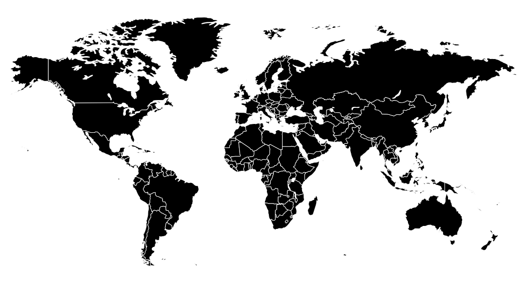 Printable Blank World Map Countries