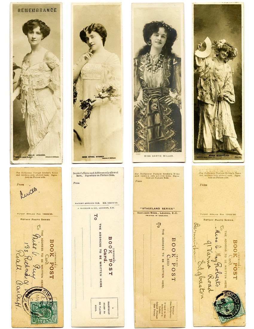 5 Images of Printable Vintage Bookmarks