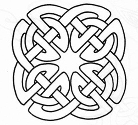 9 Images of Printable Irish Patterns