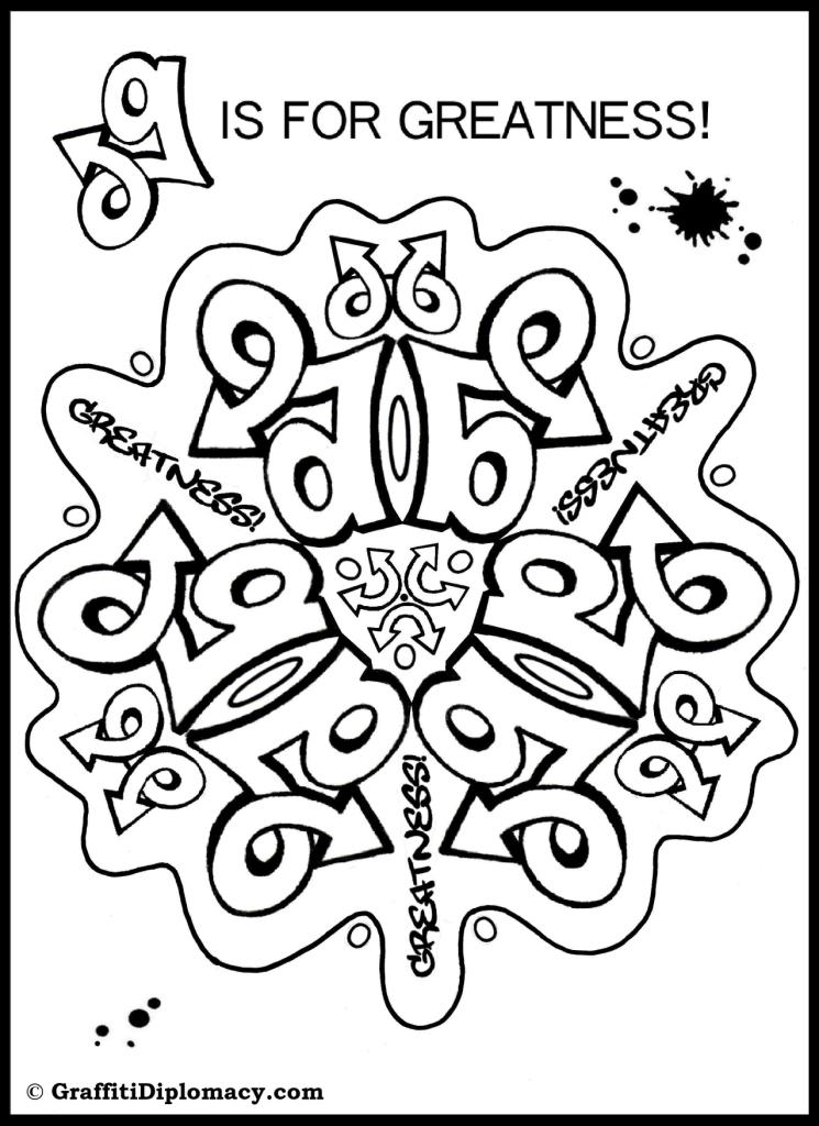 money graffiti coloring pages - photo#13