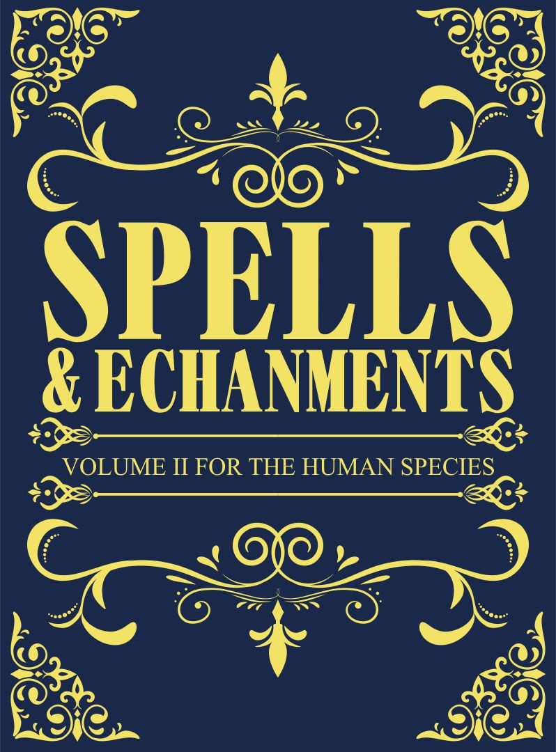 Printable Halloween Spell Book Covers