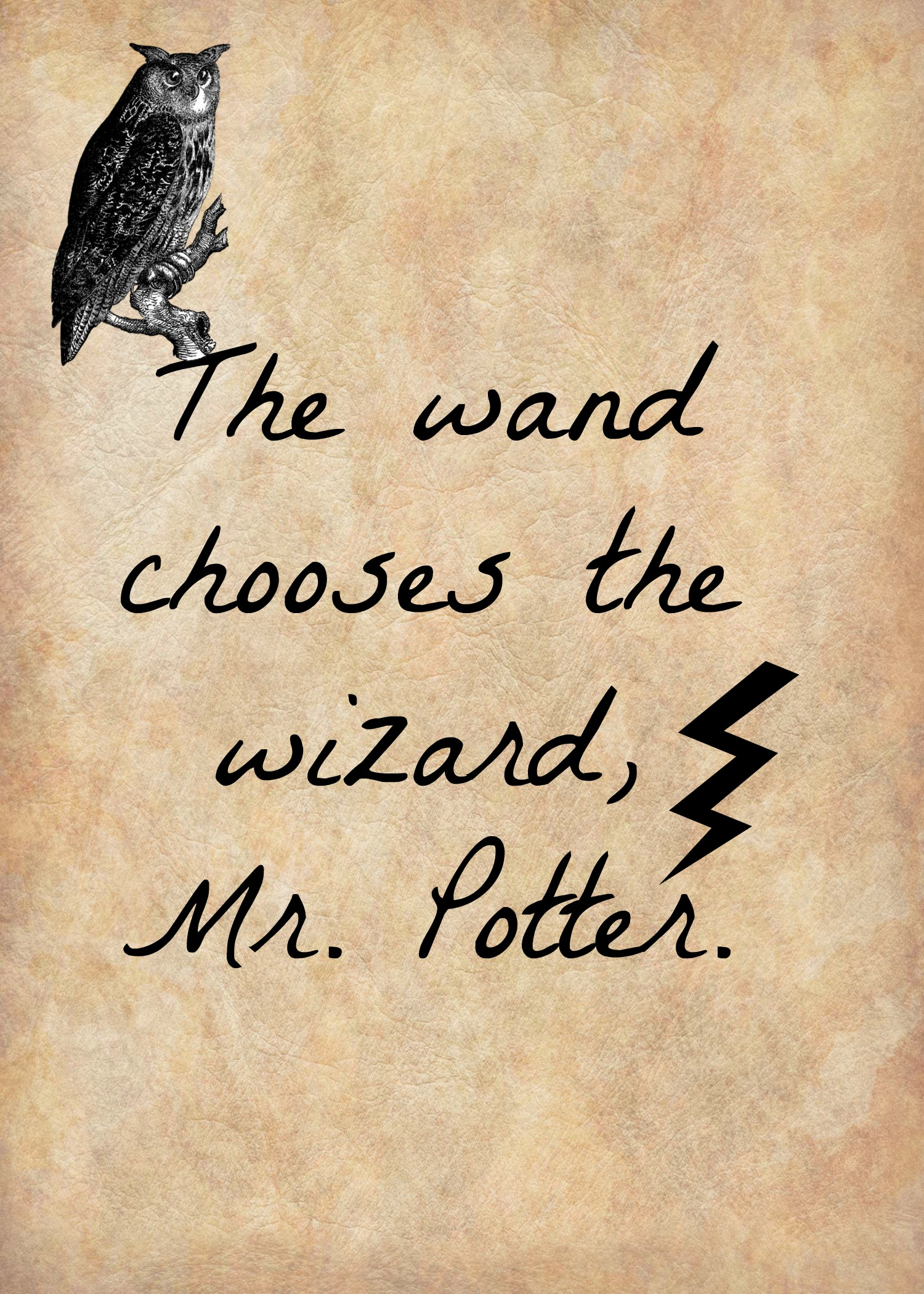 Impertinent image pertaining to printable harry potter quotes