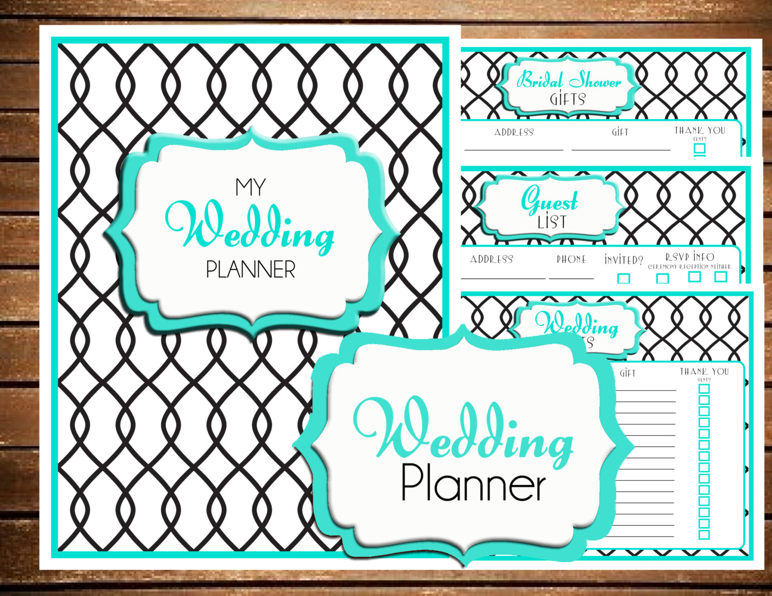Wedding Planner Printable Samples