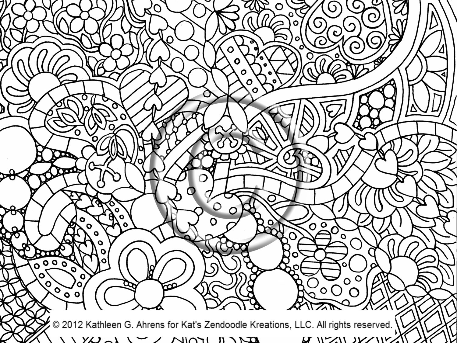 6 Best Images of Printable Psychedelic Coloring Pages ...