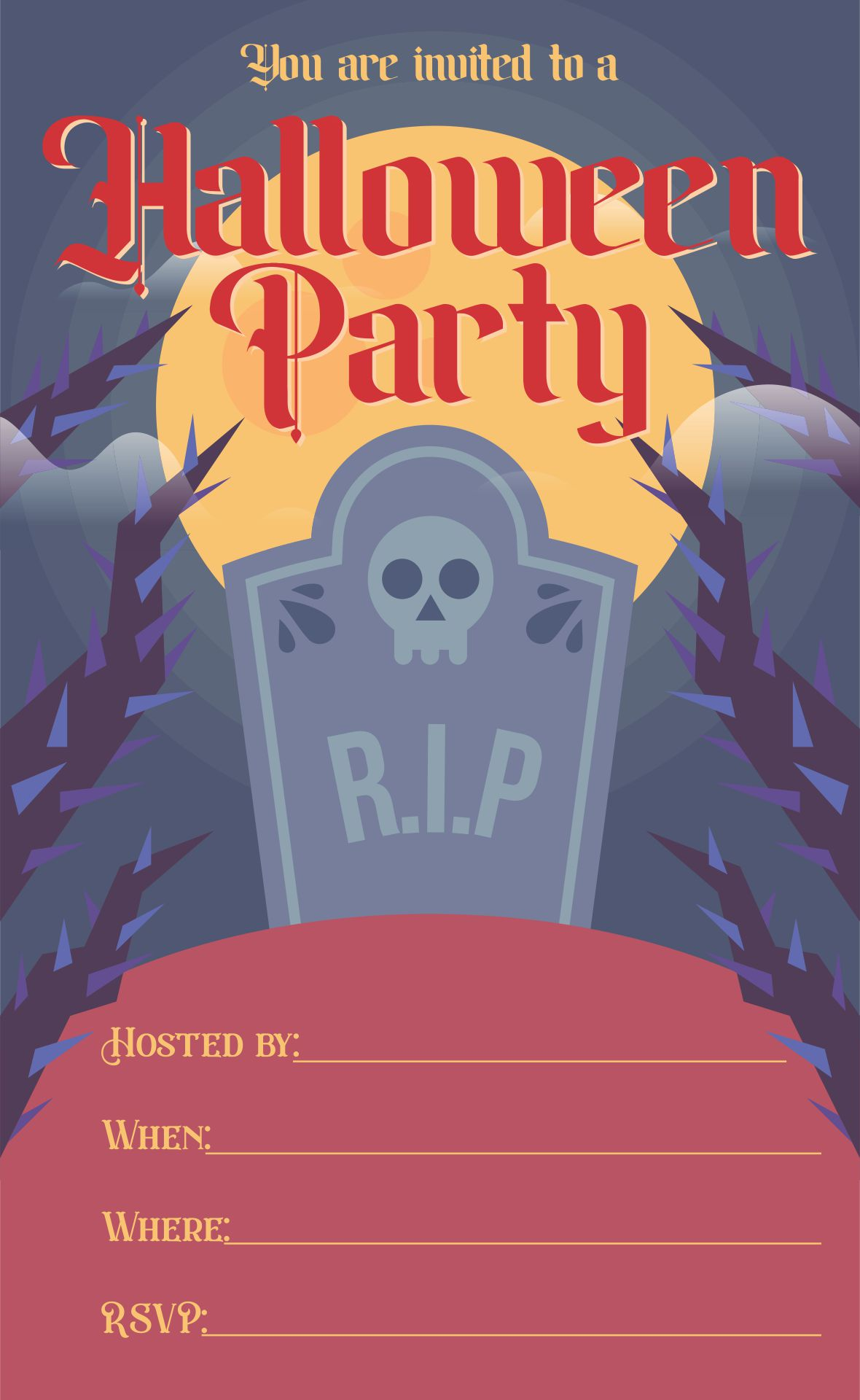 Unique Halloween Party Invitations for amazing invitation ideas
