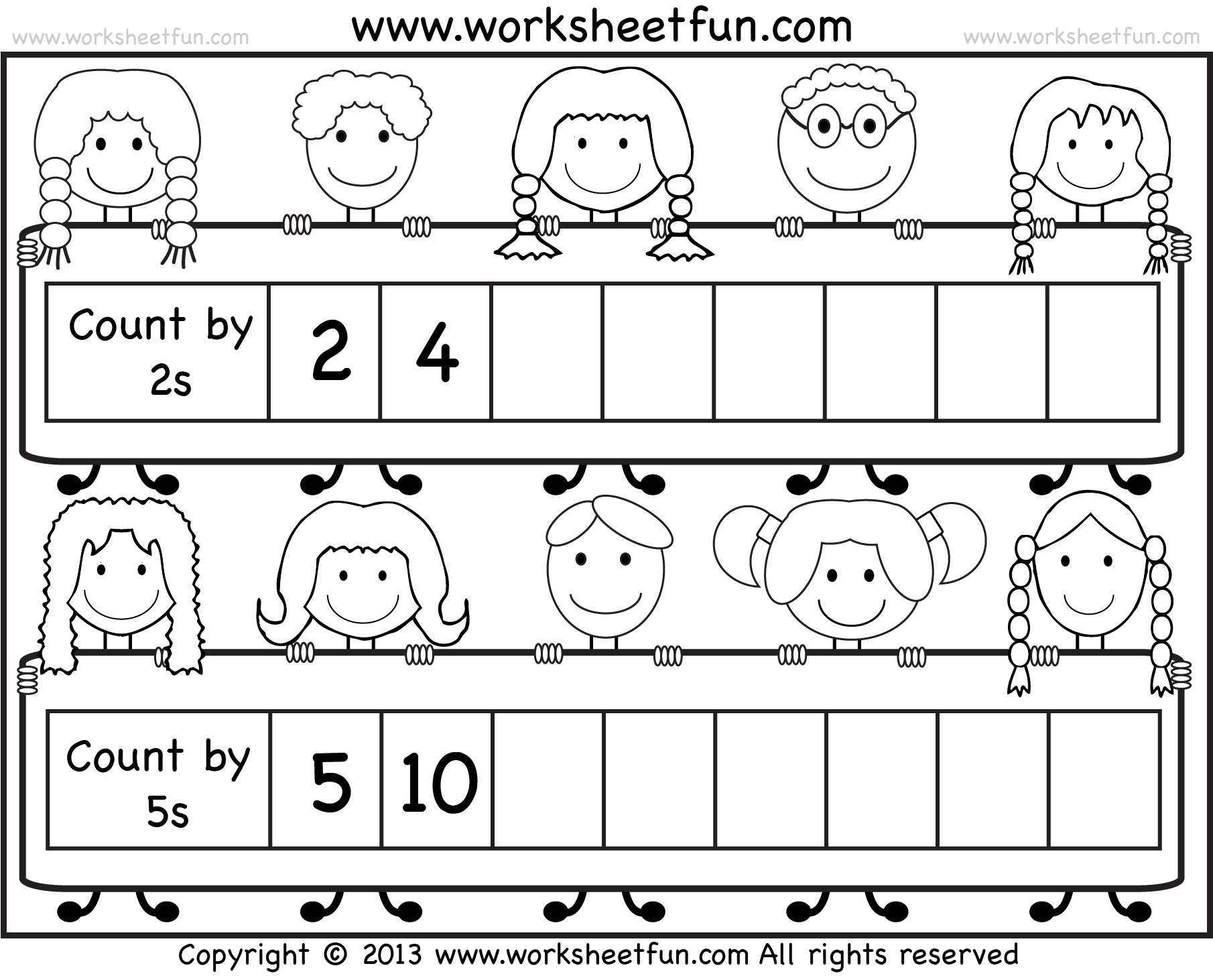 6 best images of printable count by 2 worksheets skip counting by 2s worksheet counting by 5s. Black Bedroom Furniture Sets. Home Design Ideas