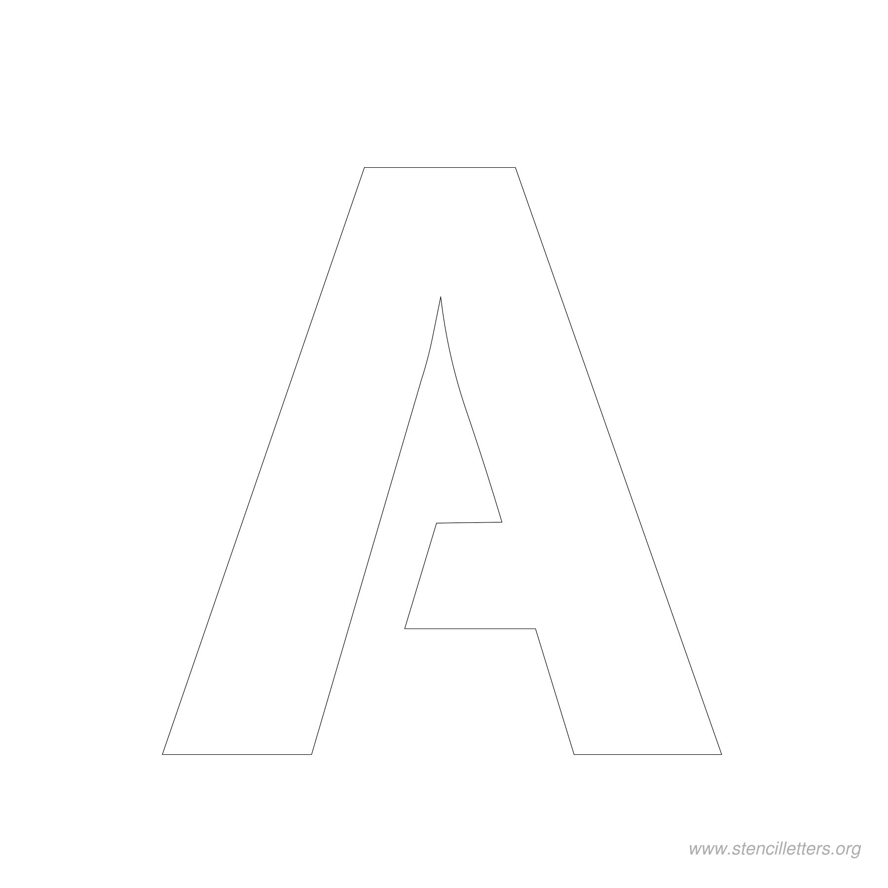 7 Images of 4 Inch Letters Printable