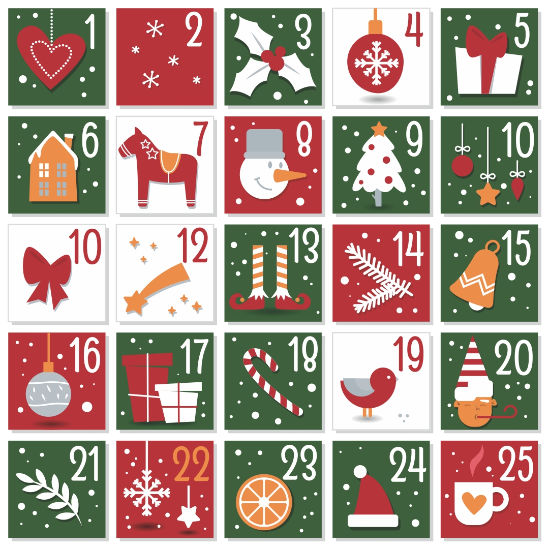 Advent Calendar Number Printables