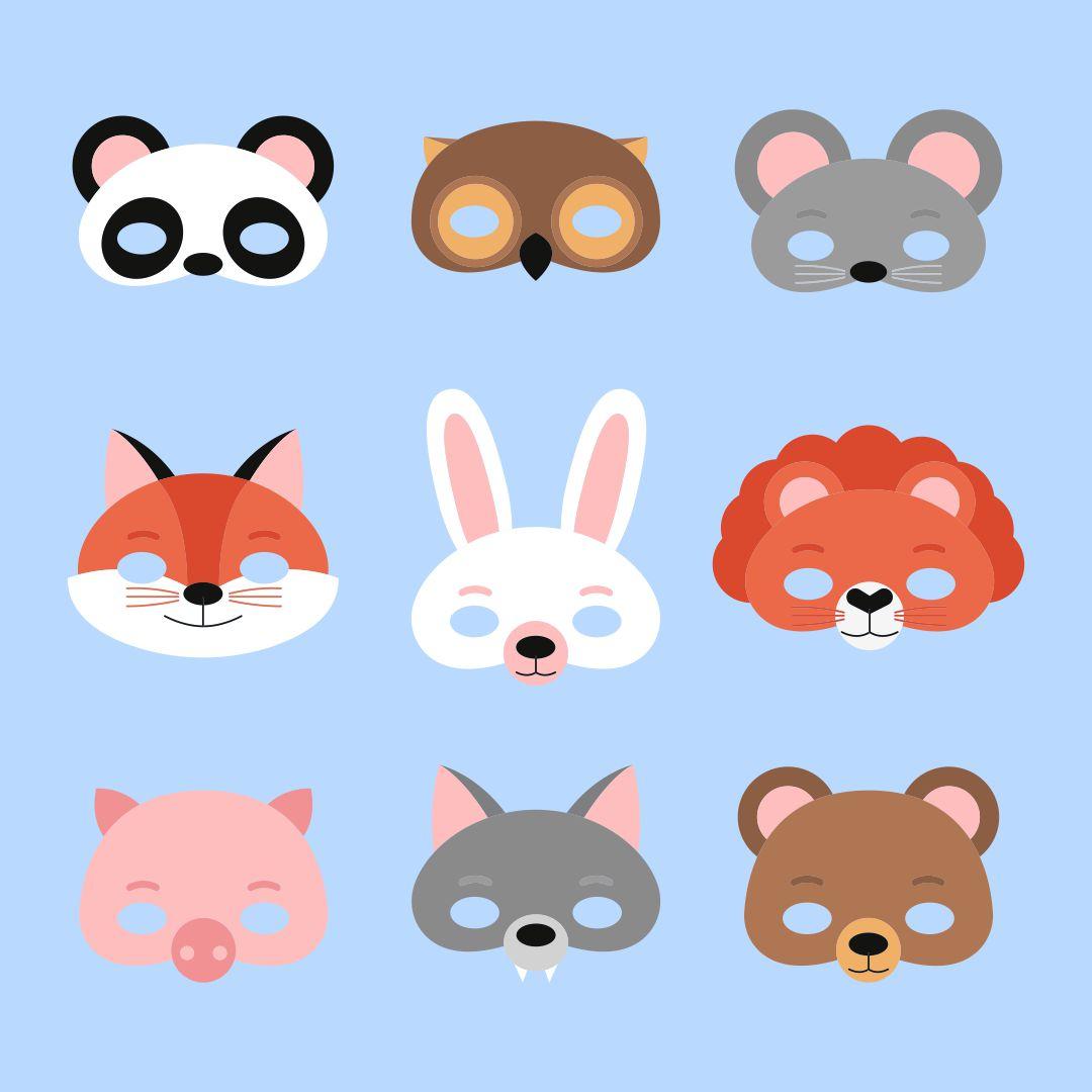 Animal Mask Templates Printable