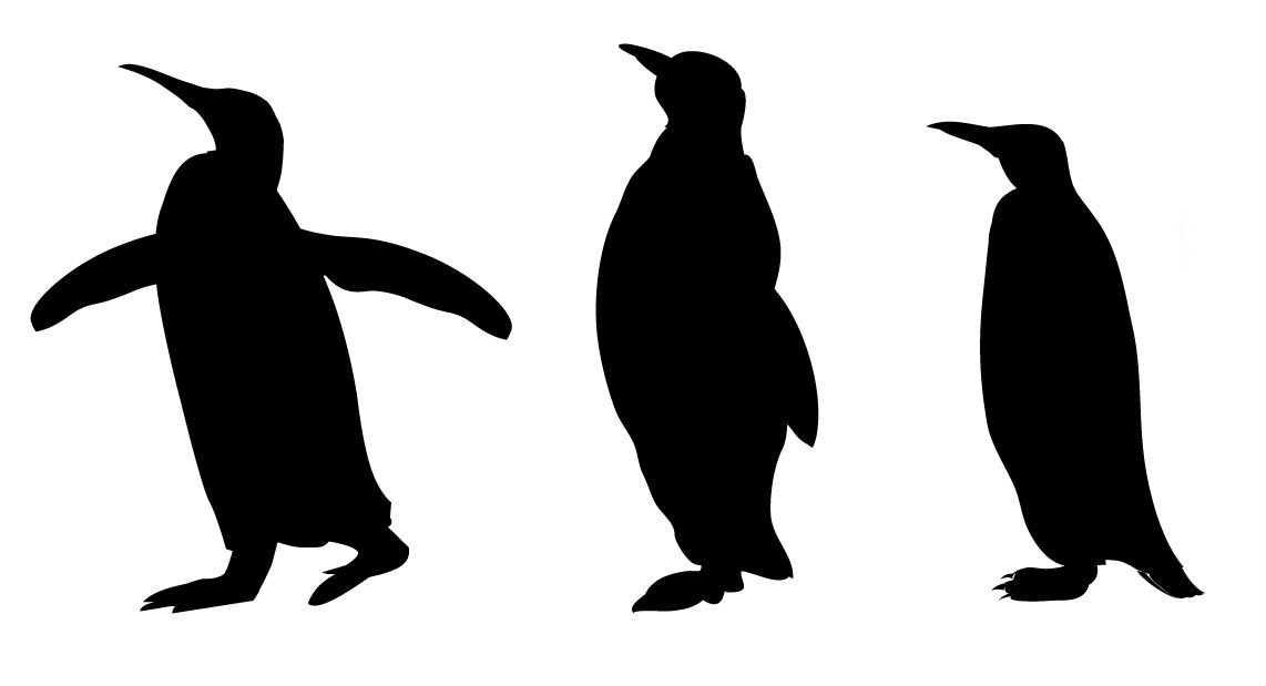 4 Images of Printable Animal Silhouette Patterns